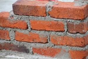 Building up a corner